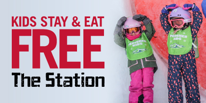 Kids Stay and Eat Free at the Station Perisher winter