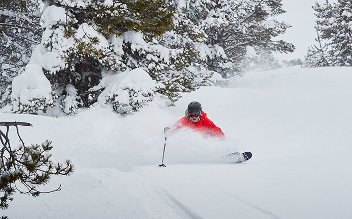 Heavenly Skier Powder