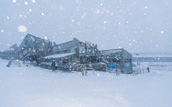 Perisher Snowfalls Front Valley
