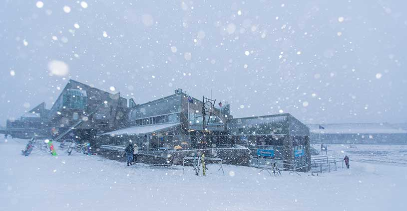 Storm Perisher Front Valley