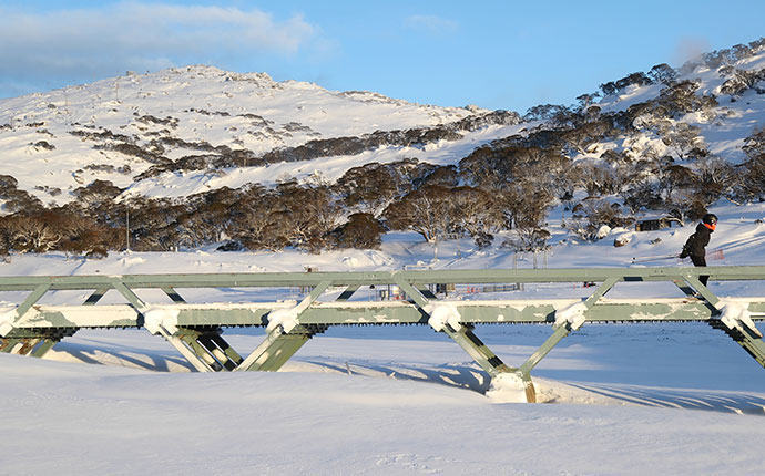 perisher Snowfall Morning Thumbnail