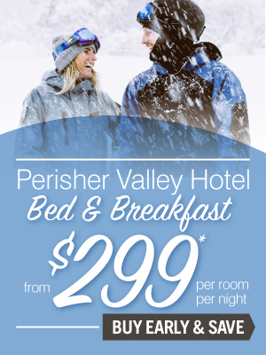 Perisher Valley Hotel Bed & Breakfast from $299