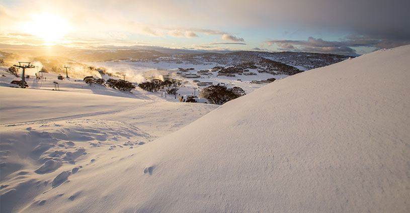 Perisher Now Tuesday Sunriise