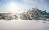 Happy Valley Sunrise snowing perisher thumbnail