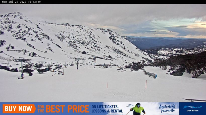 Front Valley Snow Cam, Perisher