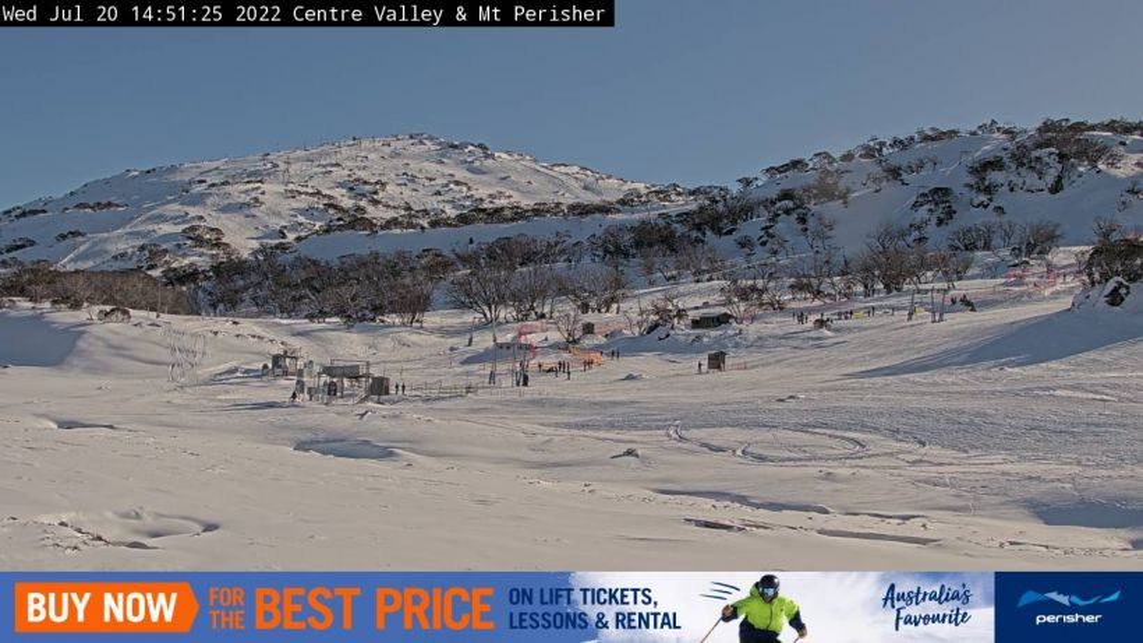 Centre Valley & Mt Perisher Snow Cam