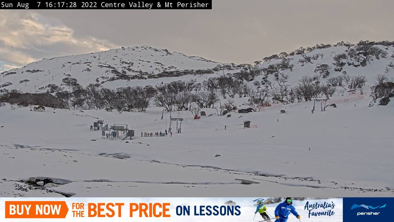 Centre Valley & Mt Perisher Snow Cam