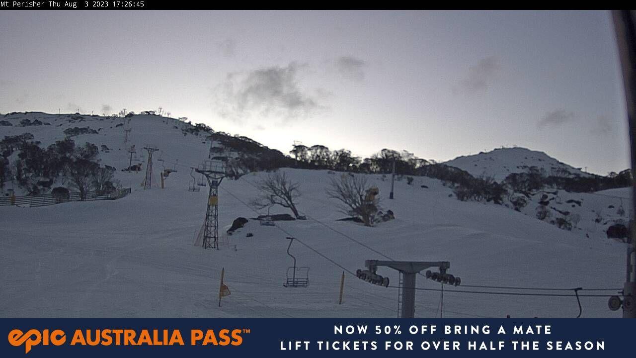 Mt Perisher Snow Cam