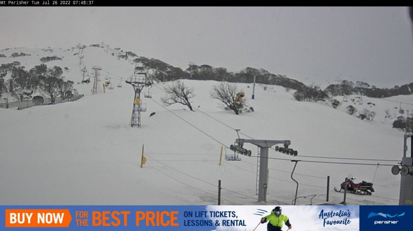 Mt Perisher Snow Cam