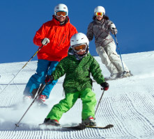 Ski School 2 Hour Lessons Kids & Adults