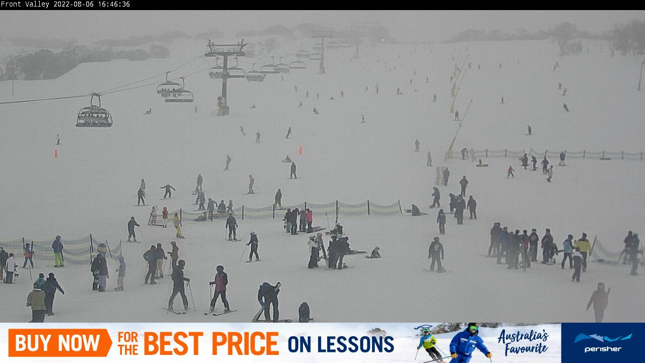 Perisher Front Valley Snow Cam