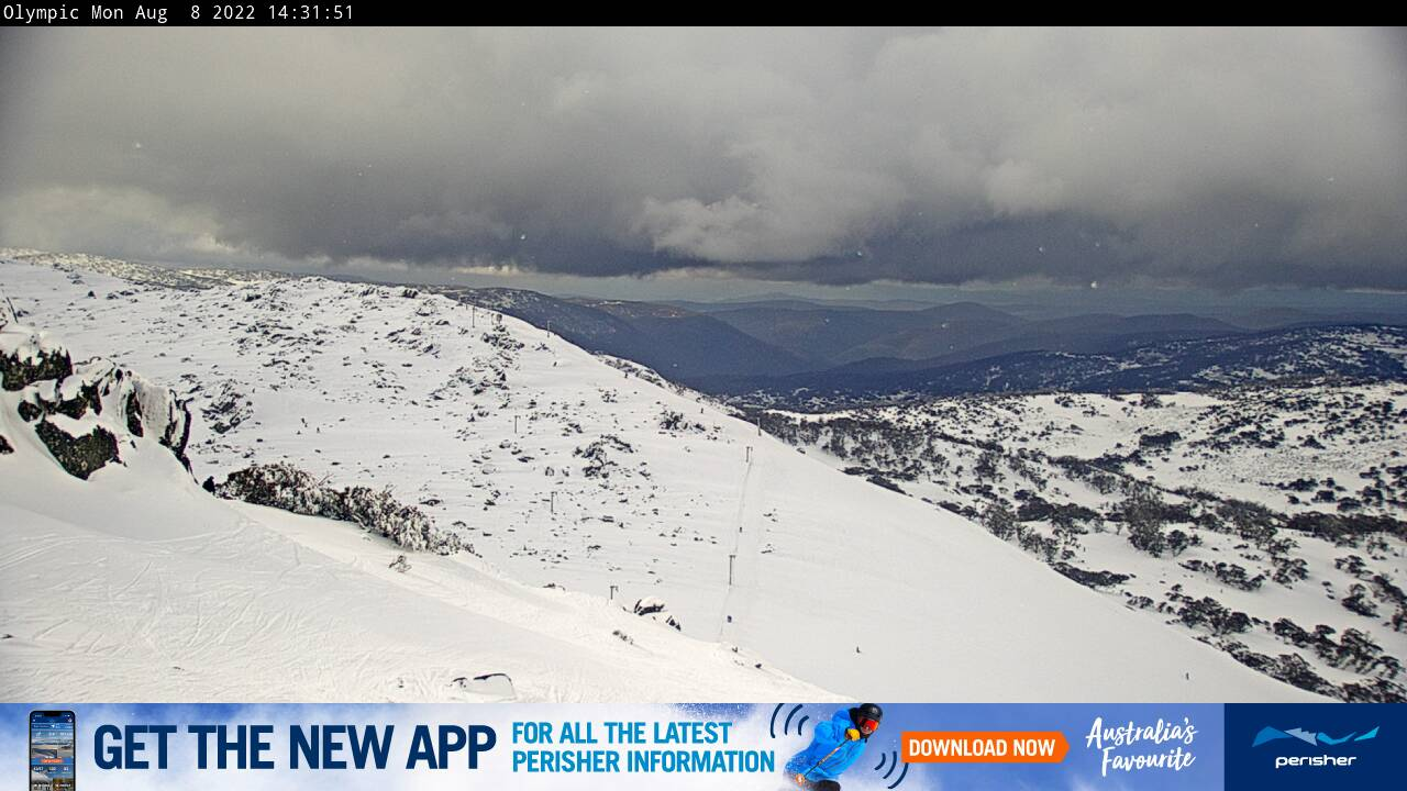 Perisher Olympic Snow Cam